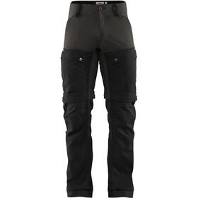 Fjällräven Keb Pantalones Gaiter Hombre, black-stone grey